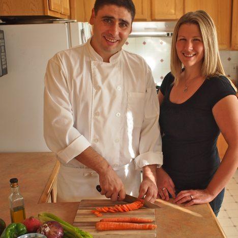 Caitlin Weeks and Nabil Boumrar
