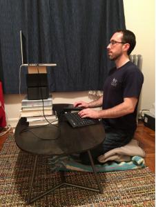 Kneeling Desk