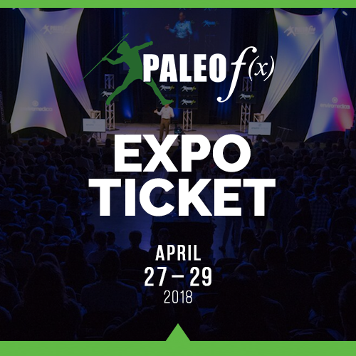 Expo Ticket Paleo f(x) 2018