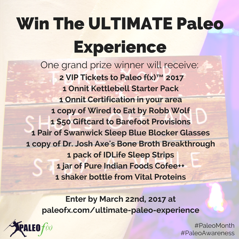 Ultimate Paleo Experience Banner