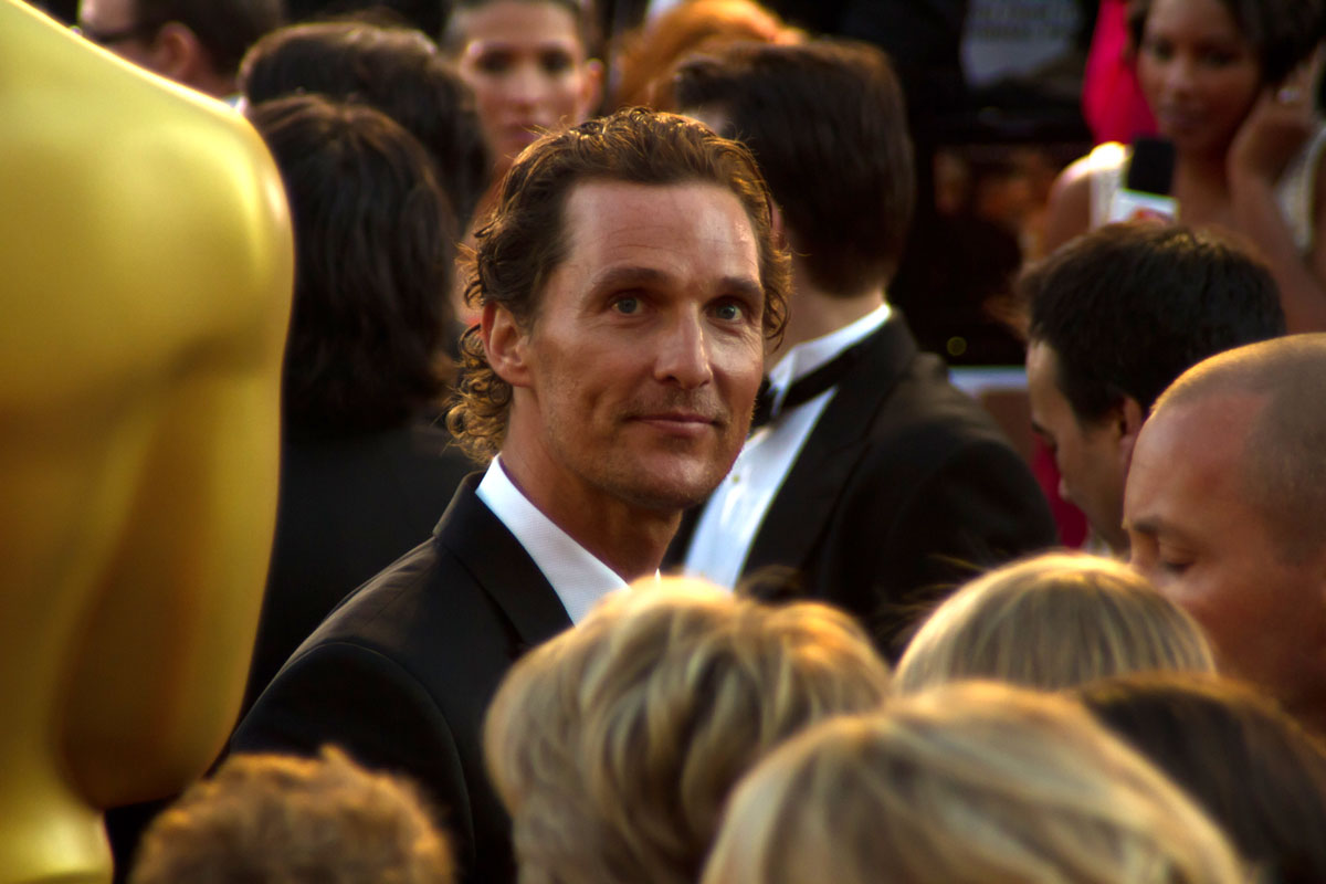 Matthew McConaughey eats Paleo