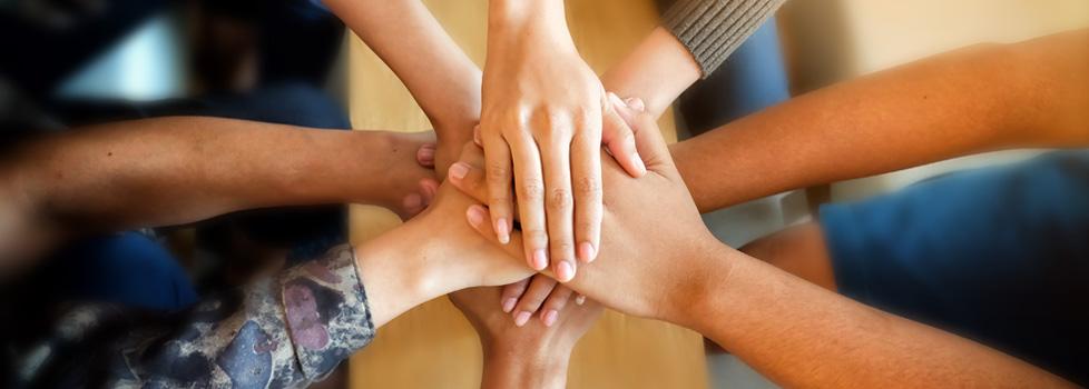 hands together for paleo diet