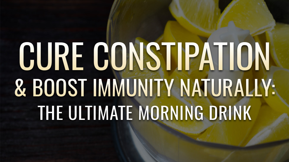 Lemon Water for Constipation