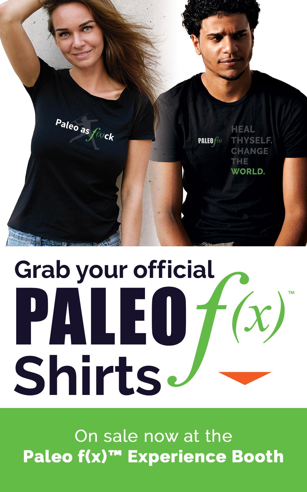 2018 Paleo f(x)™ Shirts
