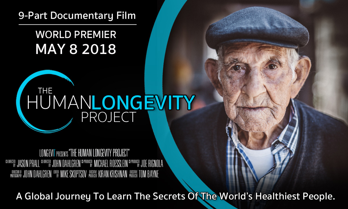 the longevity project The human longevity project is a first-of-it's-kind 9 part online documentary filmed over 2 years, in over 50 locations, with over 90 expert interviews join health researcher, jason prall, as he travels the world investigating why certain people live extraordinarily, healthy, happy and long lives .